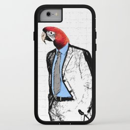 Mr. Birdhead iPhone Case