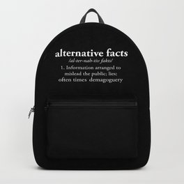 Alternative Facts Backpack