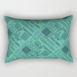 Love coffee Rectangular Pillow