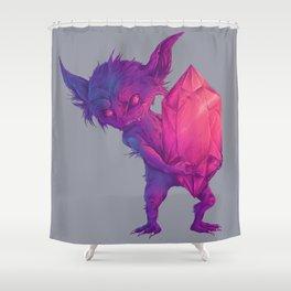 mega sableye Shower Curtain