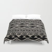 navajo Duvet Covers featuring Navajo by Stephanie Le Cocq