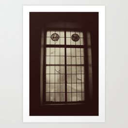Window Glass Chicago Original Photo Art Print