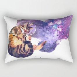 Catstronaut Rectangular Pillow