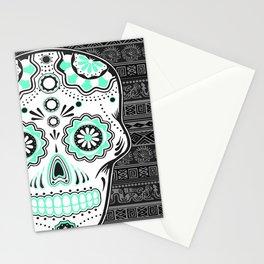 calavera mexicana Stationery Cards