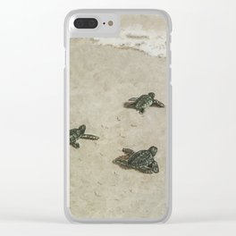The Journey Begins by Teresa Thompson Clear iPhone Case
