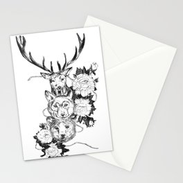 3-roses Stationery Cards