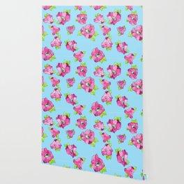 floral gaze Wallpaper
