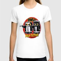 tarantino T-shirts featuring Owls Pulp Fiction by Lime