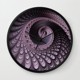 Curves and Folds Wall Clock