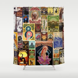 Stoned Patchwork Shower Curtain