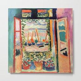 Henri Matisse The Open Window Metal Print