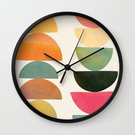 Modern Abstract Art 76 Wall Clock