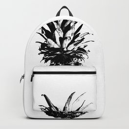 Black and White Pineapple Backpack