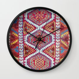 Gaziantep  Antique Turkish Carpet Wall Clock