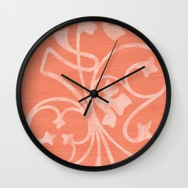 Rejas Pink Wall Clock