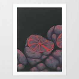 Monolopoly Fruit Art Print