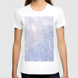 Winter Sparkle On A Sunny Frosty Day #decor #society6 #buyart T-shirt