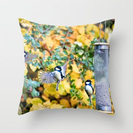 Feeding Time Throw Pillow
