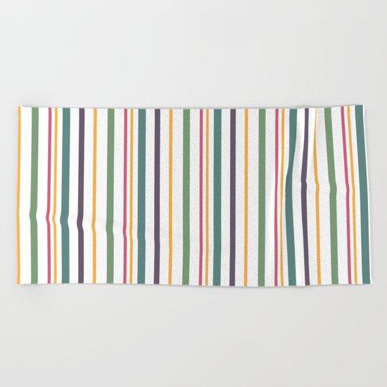 A fun striped pattern . 2 Beach Towel