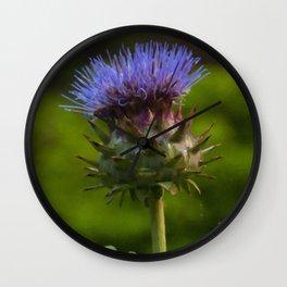 Floral Print 002 Wall Clock