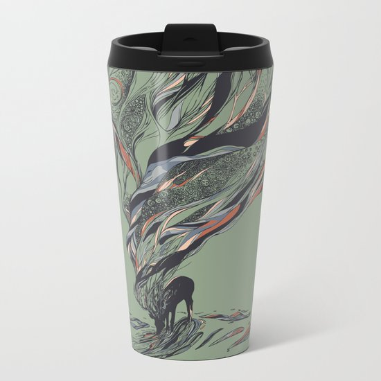 Dream Again Metal Travel Mug