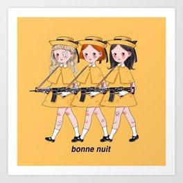Madeline & Friends Art Print