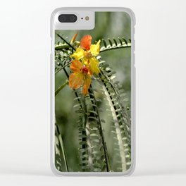flower of Galapagos Clear iPhone Case