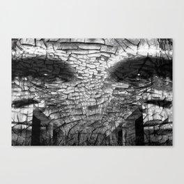 Surreal Gorilla into shadows Canvas Print