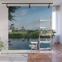 A Beautiful Dutch Scene Wall Mural