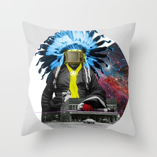 Indian Pop 94 Throw Pillow