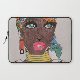 The Black Panther is Female Laptop Sleeve
