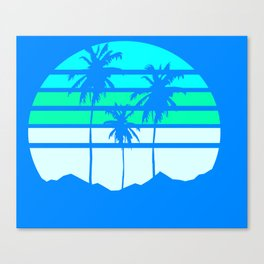 Yearning for L.A. Canvas Print