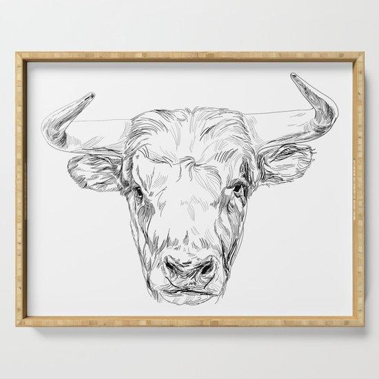 Bull illustration by venygret