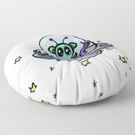 Spaced Out Floor Pillow