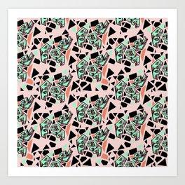 Geometric Abstraction Art Print