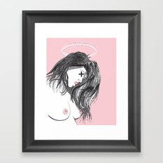 Sister Squid Framed Art Print