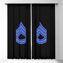 Sergeant First Class (Police) Blackout Curtain
