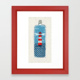 Lighthouse - Limited Time  Framed Art Print