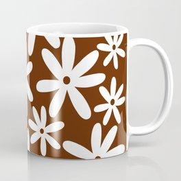 Tiare Flower Brown Coffee Mug