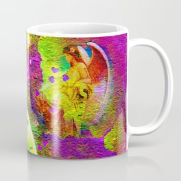 """ Love is a light come from the sky, a spark of the immortal fire which the angels share. "" Coffee Mug"