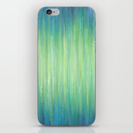 Ombre Aqua Bliss painting iPhone Skin