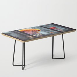 ElectricJellyfish Worlds in a Forest Coffee Table