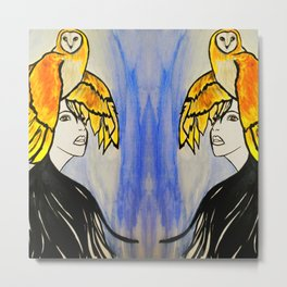 Soulmates #society6 #decor #buyart Metal Print