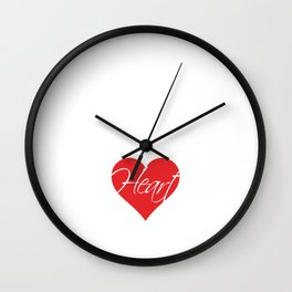 Nursing Assistants Are All Heart Medical T-Shirt Wall Clock