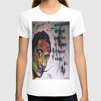 salvador dali T-shirts featuring Salvador Dali by Ruby Chavez
