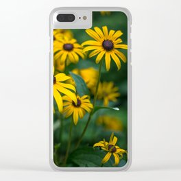 Yellows Turn Clear iPhone Case