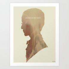 Ache With An Empty Heart. Art Print