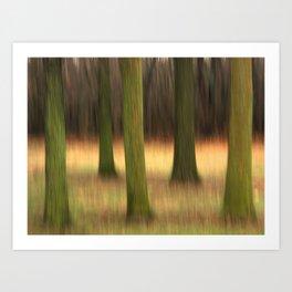 Five of Trees Art Print