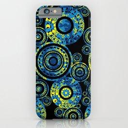 Authentic Aboriginal Art - Circles iPhone Case