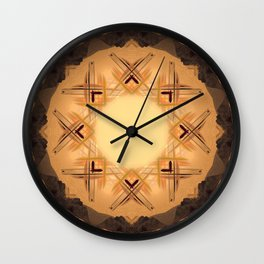 Just Like A Kid Mandala Abstract Design Wall Clock